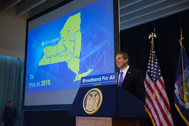 Cuomo broadband for all