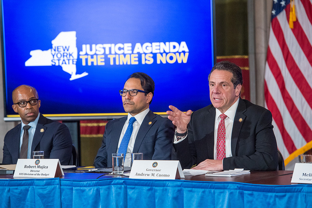 Cuomo state budget briefing