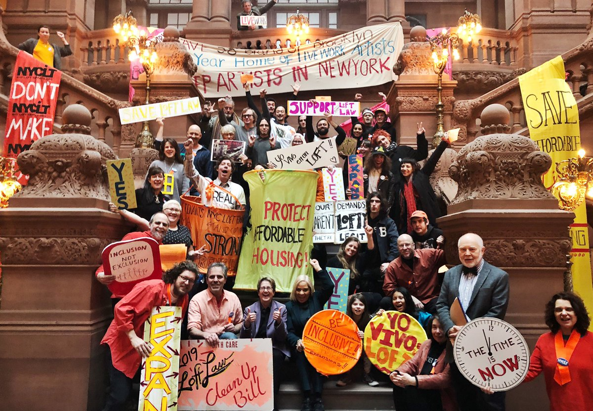 nyc loft tenants rally