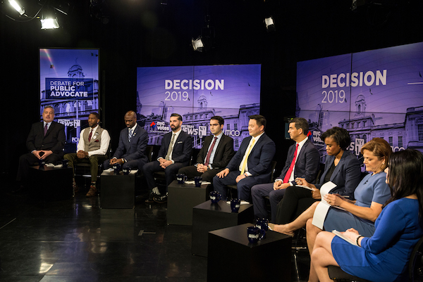 Public Advocate debate 10 candidates
