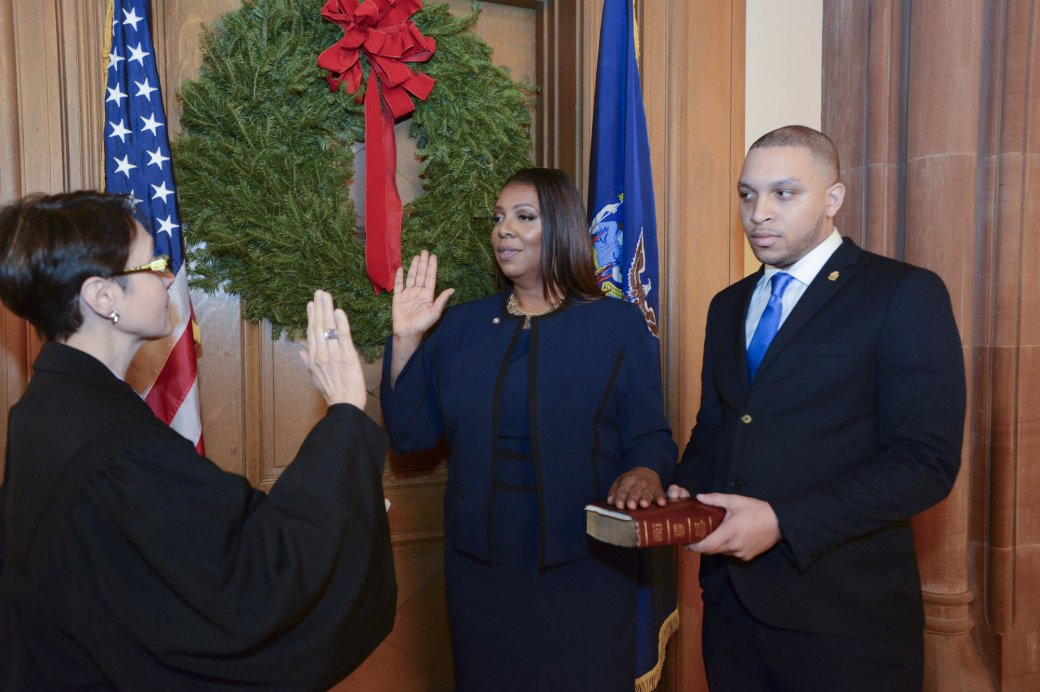 tish james becomes attorney general