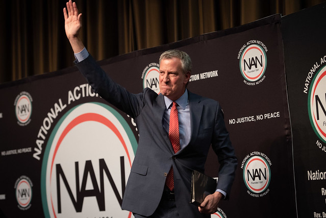 maybdeblasio nan convention