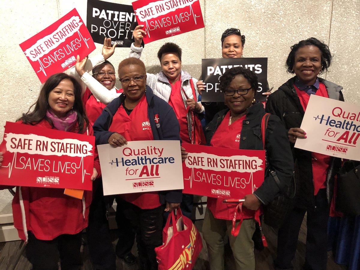 New York Nurses Threaten Major Strike Over 'Understaffing'