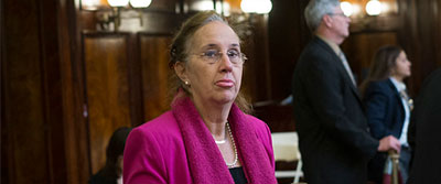 Manhattan Borough President Gale Brewer