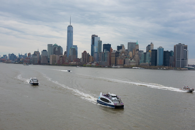 may b d blasio first ferry