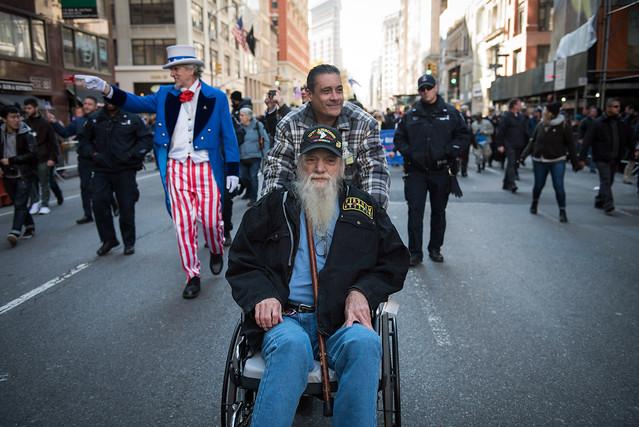 vet day parade