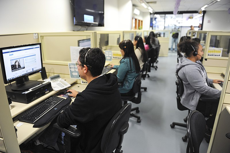 wikimedia call center