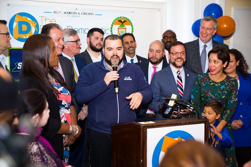 Bronx Democrats Crespo Diaz Jr