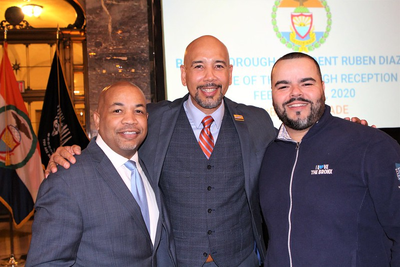 Bronx Democrats Heastie Diaz Jr Crespo