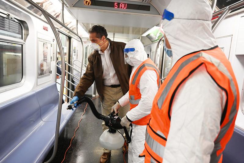 flushing amid pandemic
