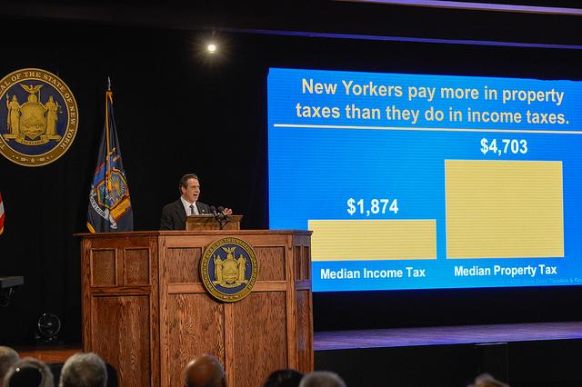 Cuomo budget presentation
