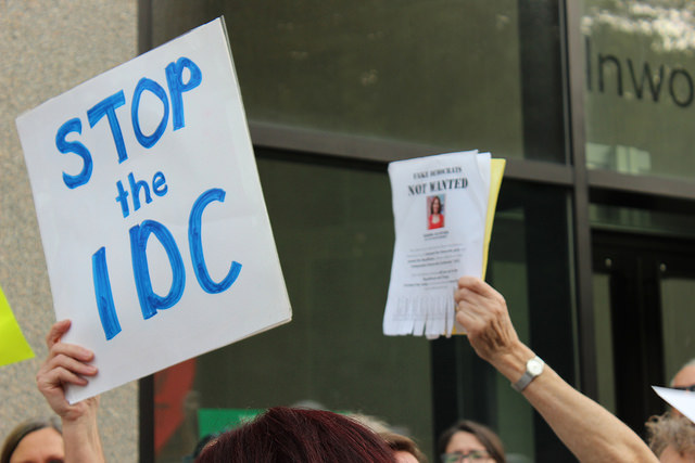 protest alcantara IDC