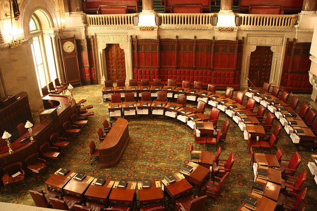 State Senate Chambers New York