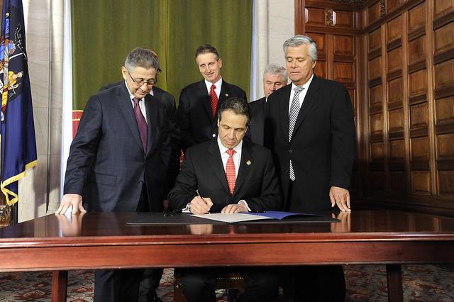 Cuomo Silver Skelos ethics reform