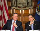 Gotham Gazette: Cuomo is Keeping New York from Emulating California, De Blasio Says