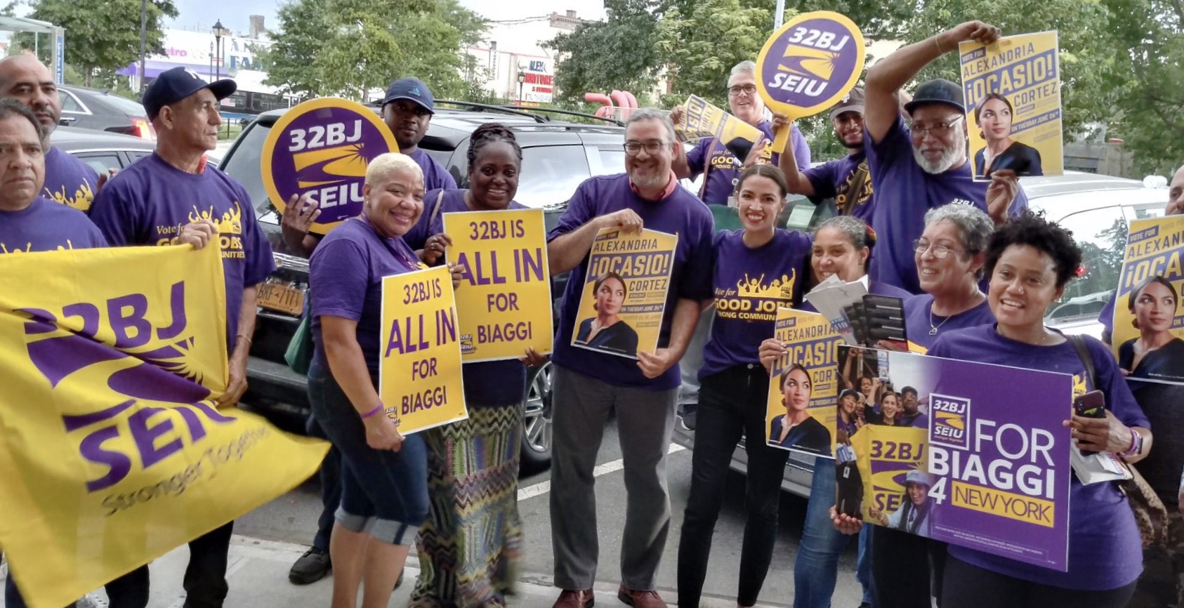 32BJ for Biaggi