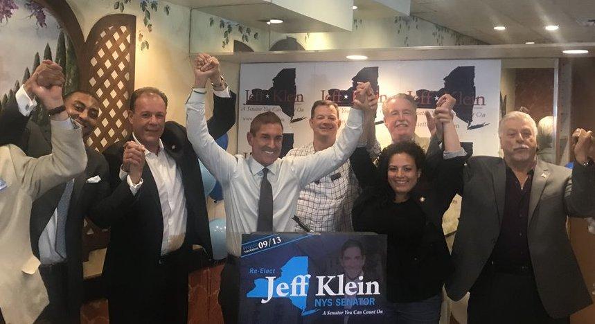 jeff klein campaign kickoff