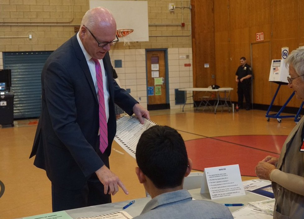 joe crowley voting
