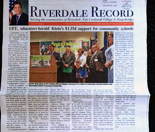 klein riverdale record