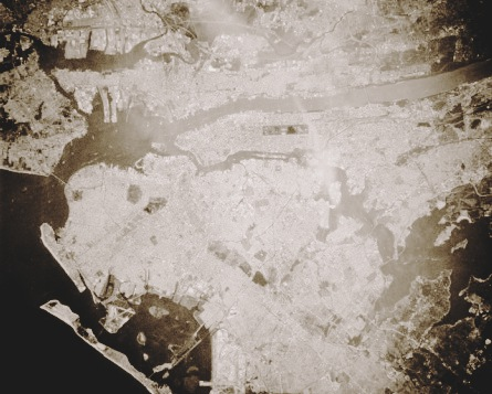 new-york-city-from-space-bw
