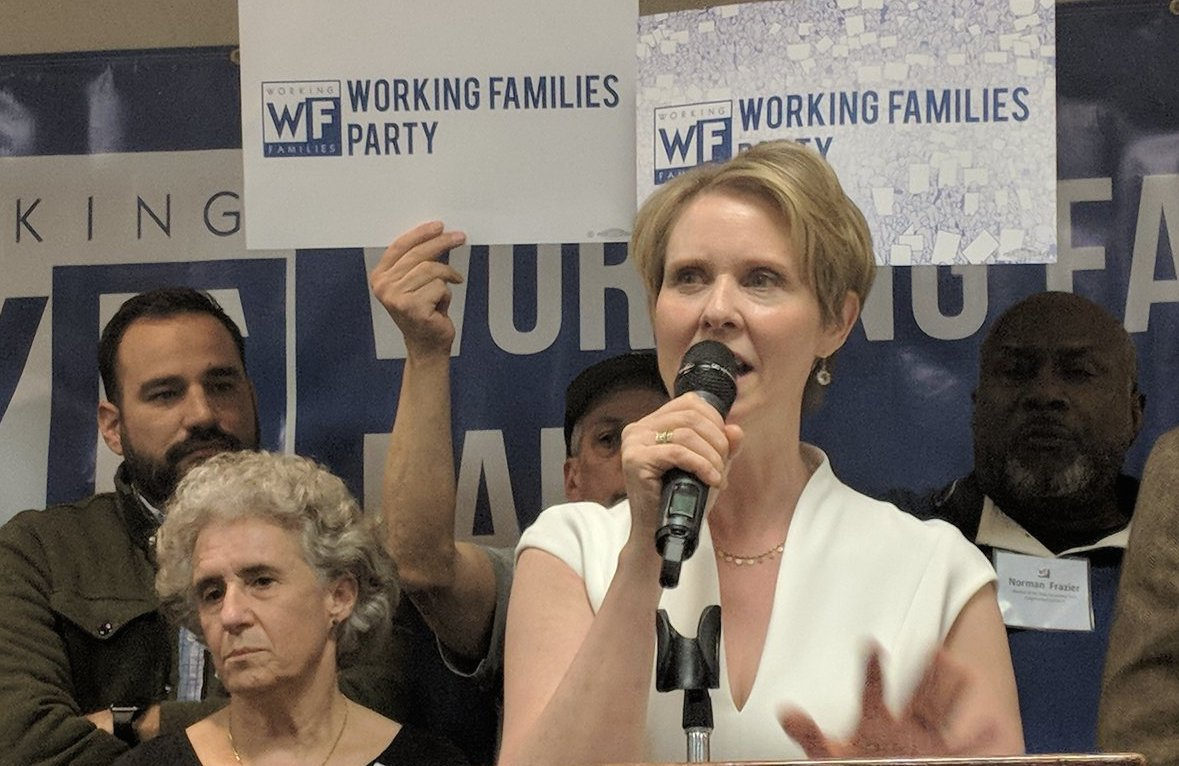 The Cynthia Nixon-Working Families Party Back-up Plan
