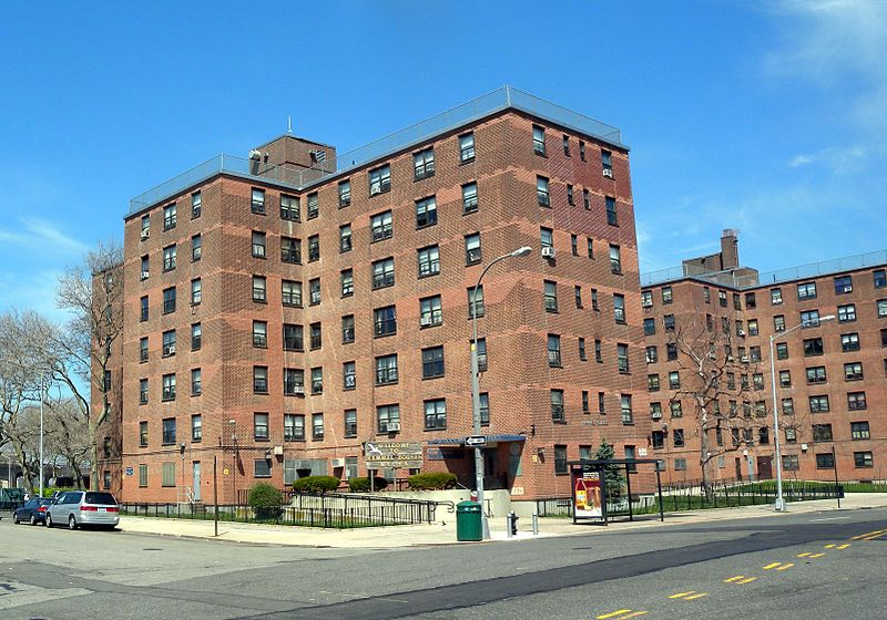 Hammel Houses in Queens, image courtesy of Wikimedia Commons