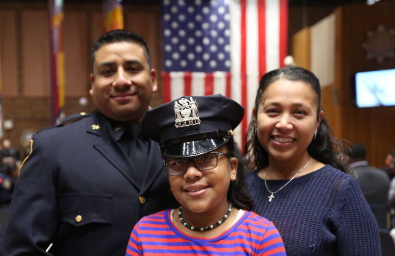 nypd family cropped