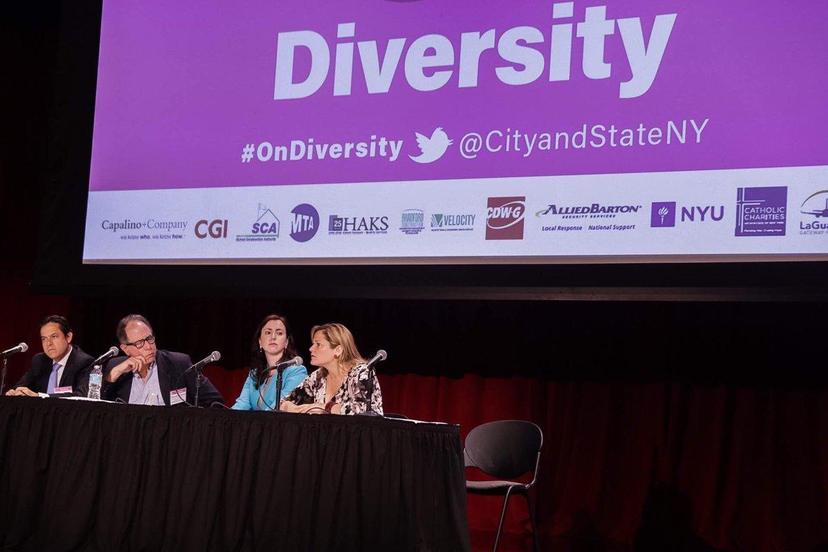 on diversity panel