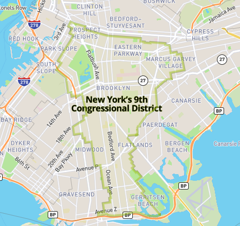 Brooklyn Congressional District 9