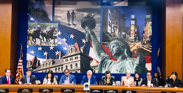 state legislators hearing