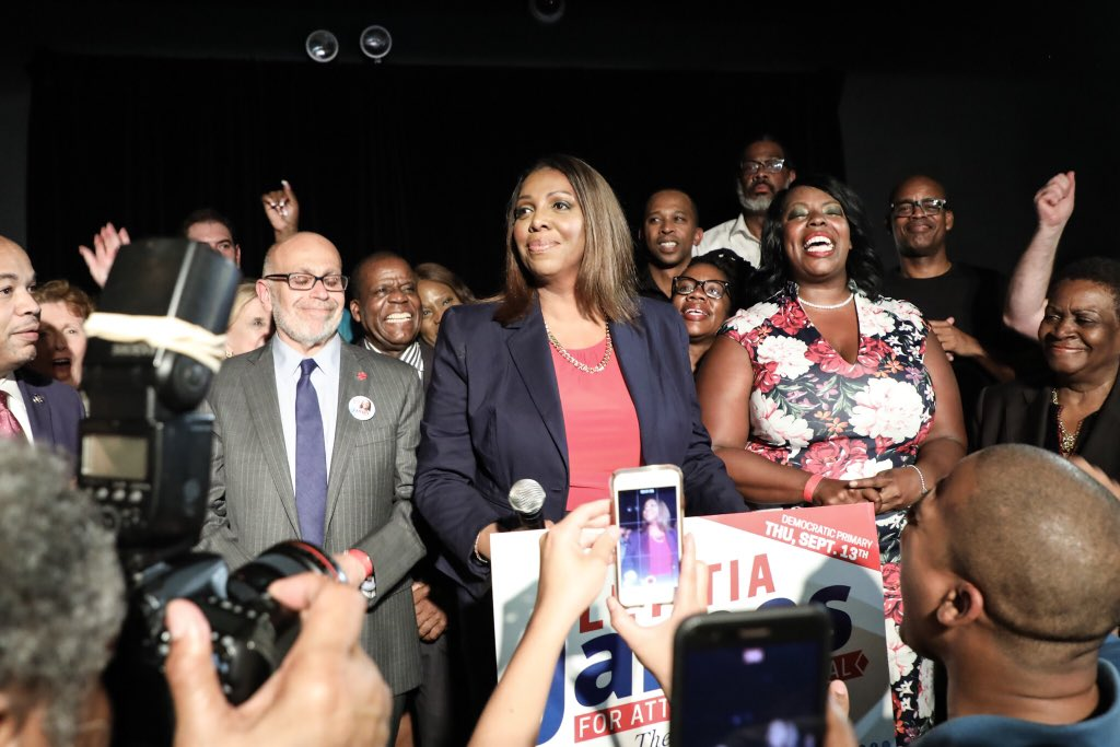 tish primary night win