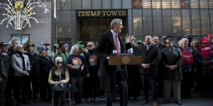 De Blasio Launches Underdog Campaign for the Presidency with Pitch as Progressive Executive and Mixed Record