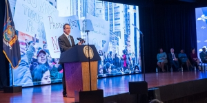 In State of the State, Cuomo Plots Changes on Education Aid, Medicaid, Marijuana and More