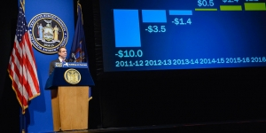 How Cuomo Closes Budget Gaps and May Approach Largest Deficit Since His First Year